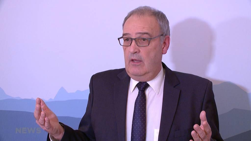 Guy Parmelin verspricht  Wirtschaft unter die Arme zu greifen