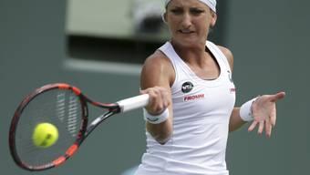 Timea Bacsinszky ist in Form und gewann zehn ihrer letzten elf Partien