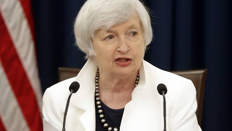 Die Erhöhung des Leitzinses dürfte die letzte grosse Entscheidung der abtretenden Fed-Chefin Janet Yellen gewesen sein. (Archiv)