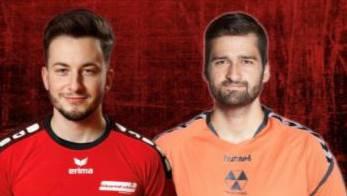 Ruben Jäggi (l.) und David Pfister sind zwei der sieben Zuzüge, die der TV Solothurn in den vergangenen Tagen vermeldet hat.