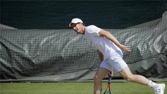 Rückkehr auf die grosse Bühne: Andy Murray tritt in Wimbledon im Doppel und im Mixed an.