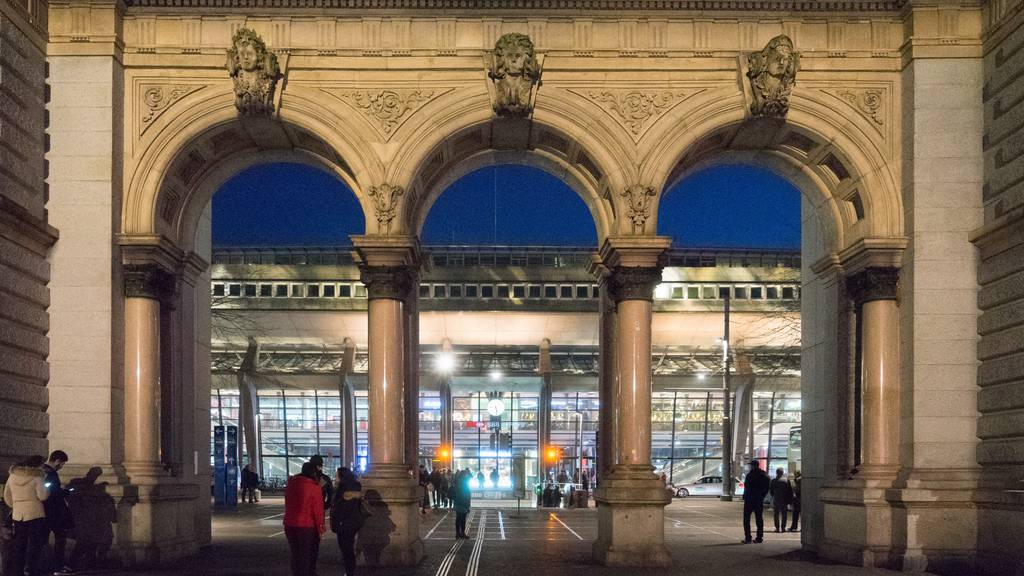 Auseinandersetzung beim Bahnhof Luzern
