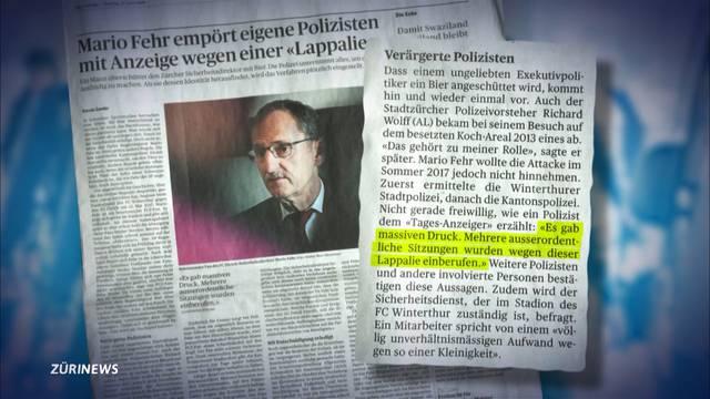 Missbraucht Sicherheitsdirektor Mario Fehr seine Macht?