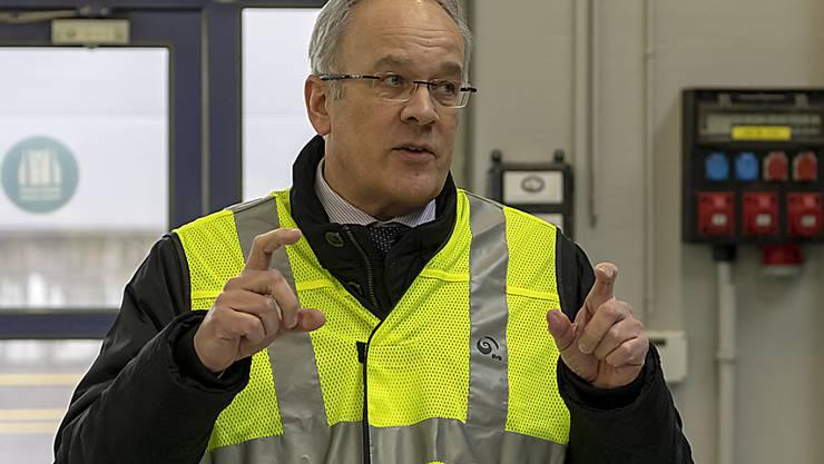 Erich Lagler tritt nach der scharfen Kritik durch die Geschäftsprüfungskommission des Basler Grossen Rats als Direktor der Basler Verkehrs-Betriebe zurück. (Archivbild)