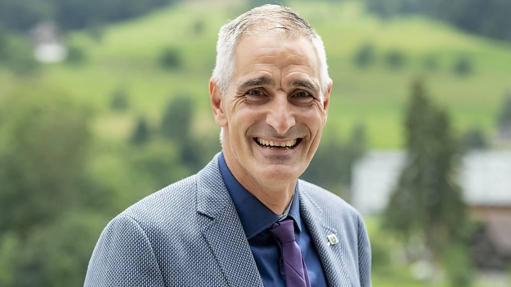 Der Krienser Finanzchef Roger Erni (FDP): Er und seine Stadtratskollegen können für 2022 noch kein ausgeglichenes Budget vorlegen. (Archivaufnahme)