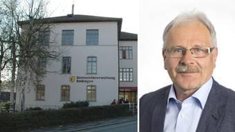 Gemeinderat Gerhard Schneider tritt zurück.