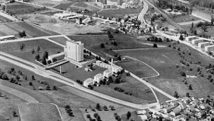 Erstes Spitalmodell von Josef Schütz