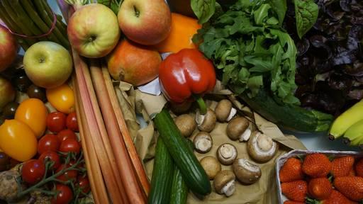 Früchte und Gemüse? Was hat derzeit Saison?