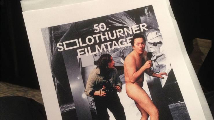 Zum 50. Geburtstag der Solothurner Filmtage gibts einen erfrischend neuen Auftritt mit neuem Schriftzug.theodor Eckert