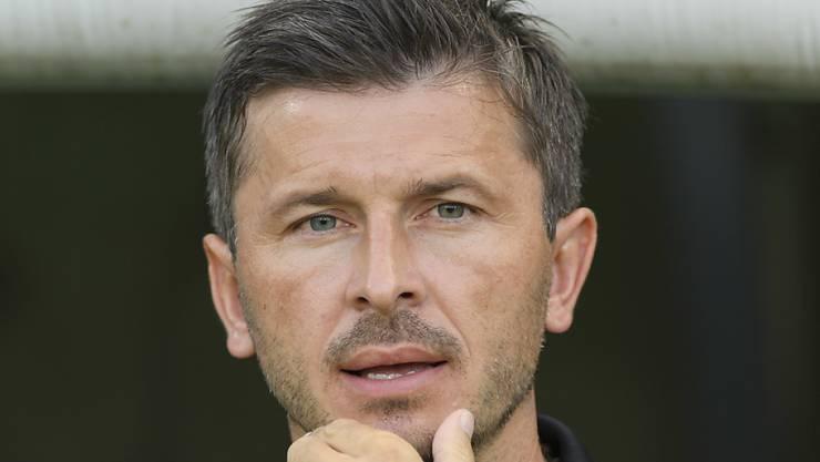 Nach dem Sieg gegen Xamax dürfte der Druck auf Aarau-Coach Marinko Jurendic etwas abnehmen