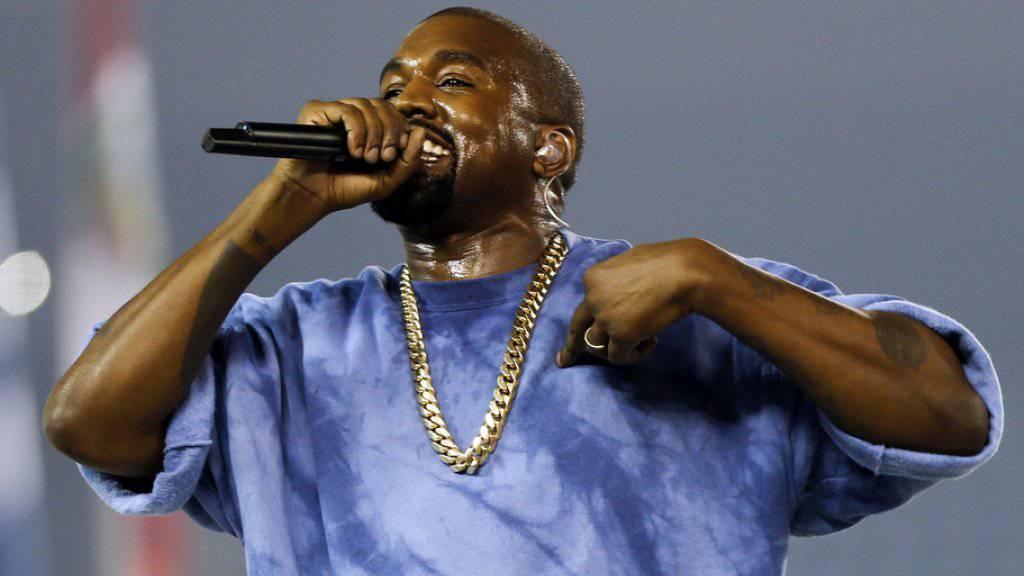 Hält viel auf sich und wenig auf anderen: Kanye West (Archiv)