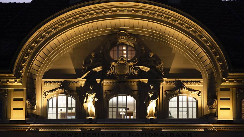 SNB hat 2020 Devisen im Gegenwert von 110 Mrd Franken erworben