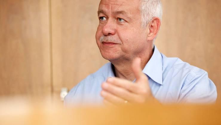Felix Strässle, Direktor der Regio Energie Solothurn, hat die Fernwärme-Diskussion überrascht.