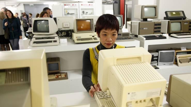 Blick ins Computermuseum Enter.