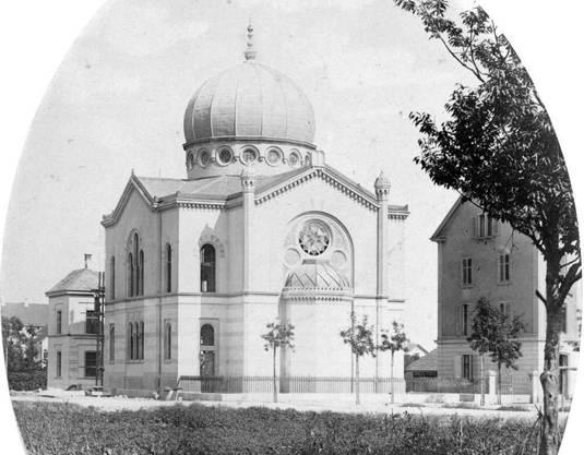 Nur kurz nach der Emanzipation von 1866 erbaute die jüdische Gemeinde in Basel ihre Synagoge.