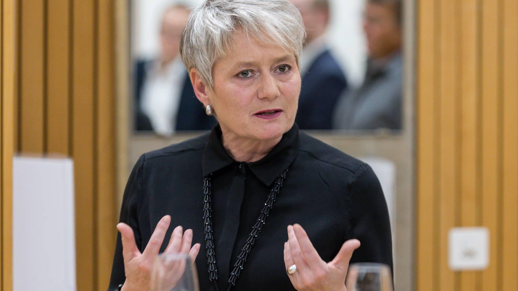 Will, dass Gerichtsverfahren unterbrochen werden: Jacqueline Fehr, Zürcher Justizdirektorin.