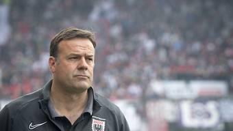 Patrick Rahmen bleibt dem FC Aarau als Trainer erhalten