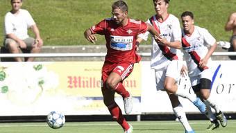 Goran Antic und sein FC Baden will schwungvoll gegen den FCD antreten.
