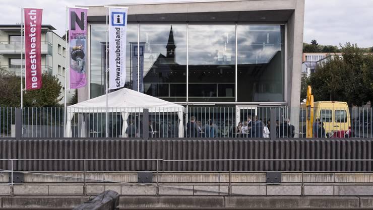 Das Neue Theater am Bahnhof wurde unter neuem Namen wieder eröffnet.