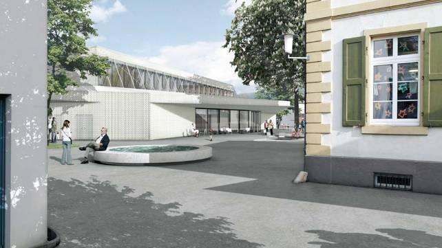 Mit ihrem Entwurf für die Mehrzweckhalle obsiegten die Zürcher Architekten Blatter + Müller.  zvg