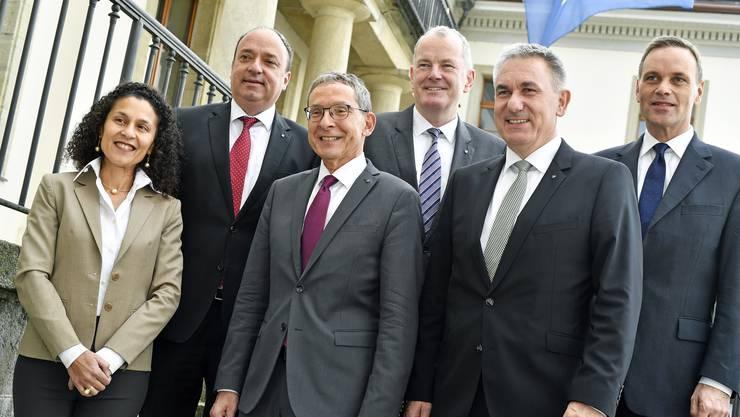 Der Aargauer Regierungsrat unterstützt Corona-Geschädigte. (Archiv)