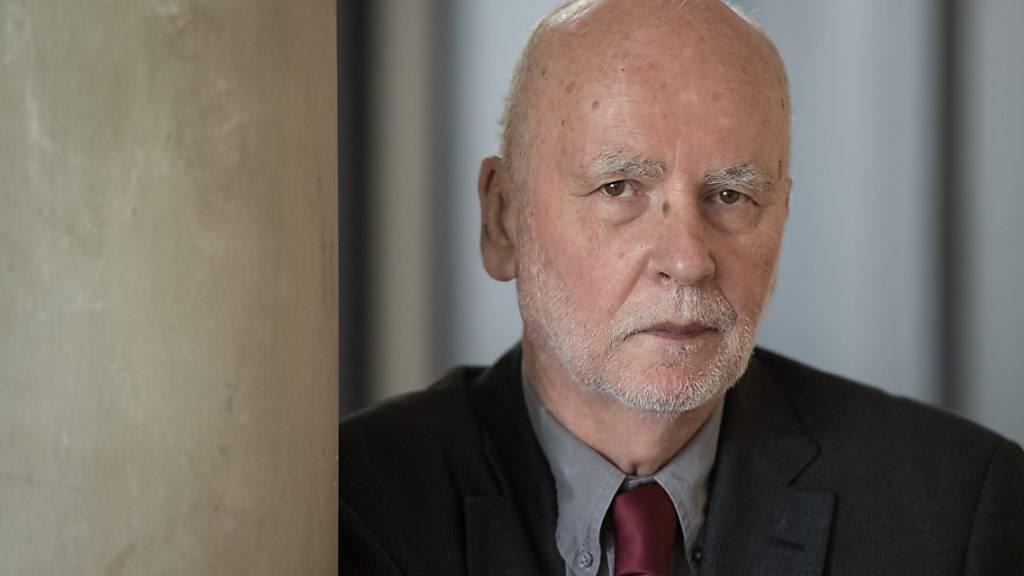 ARCHIV - Der polnische Dichter und Essayist Adam Zagajewski starb im Alter von 75 Jahren in Krakau. Foto: picture alliance / dpa