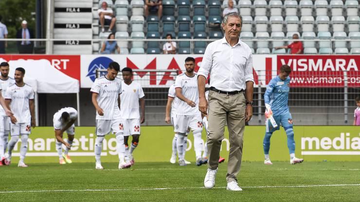Vor allem gegen kleinere Mannschaften musste der FC Basel einige Enttäuschungen einstecken.