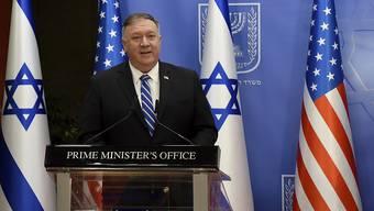 US-Aussenminister Mike Pompeo hofft, dass weitere Staaten im arabischen Raum ihre Beziehungen mit Israel normalisieren.