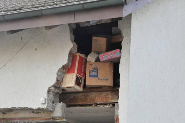 Das zerstörte Haus