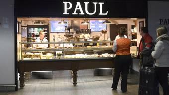 «Paul» – die neue Bäckerei des Food-Konzessionärs Elior im Abflugbereich, französische Seite. NIZ