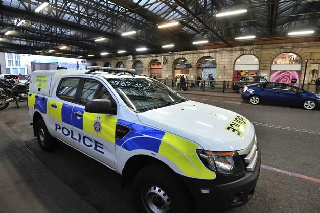 Am Bahnhof Waterloo ging eine der drei Briefbomben ein