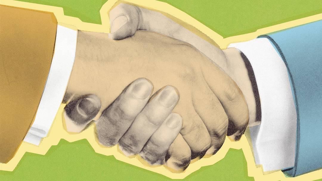 Handschlagpflicht an Schulen