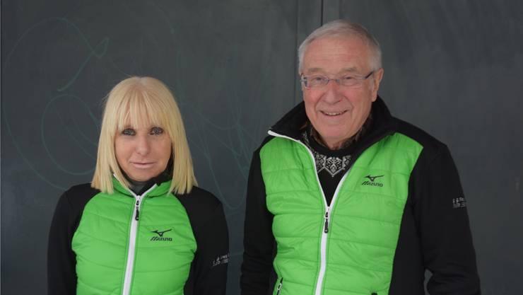 Freude am Jogging vermitteln: Doris Glatzfelder und Peter Schär.
