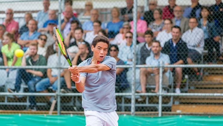 Der Brite George Loffhagen ist der Sieger der 11. Fromm Swiss Junior Trophy in Oberentfelden.