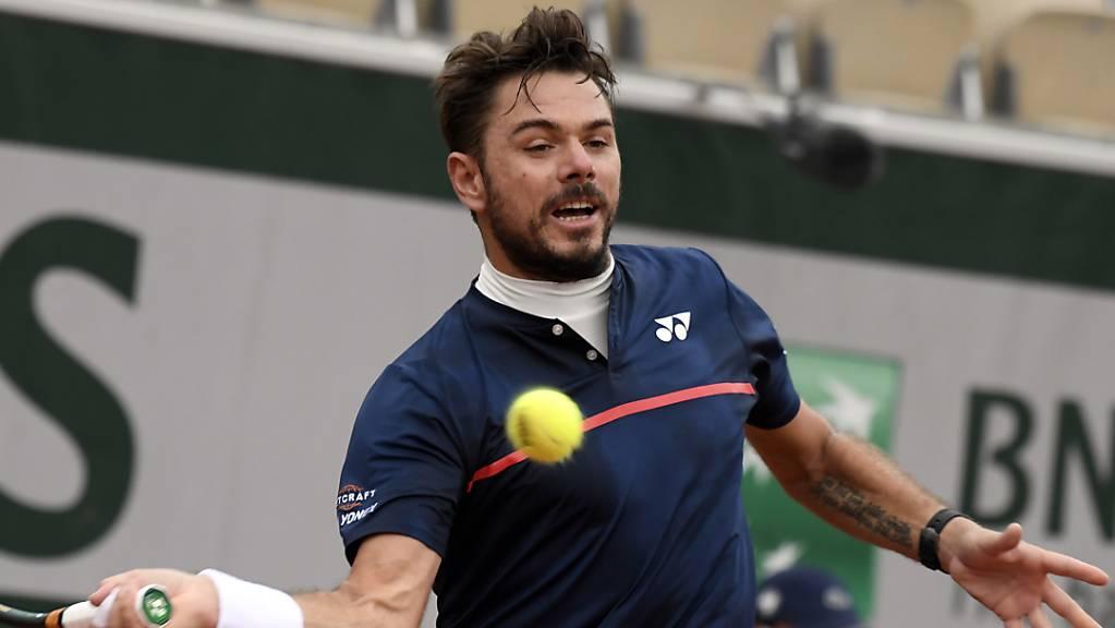 Beim French Open in Paris setzte es für Stan Wawrinka gegen den Franzosen Hugo Gaston eine grosse Enttäuschung ab