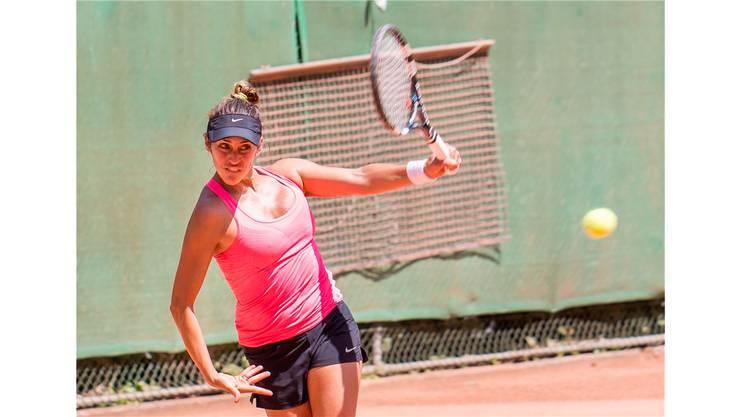 Salome Llaguno musste sich im Finale geschlagen geben.
