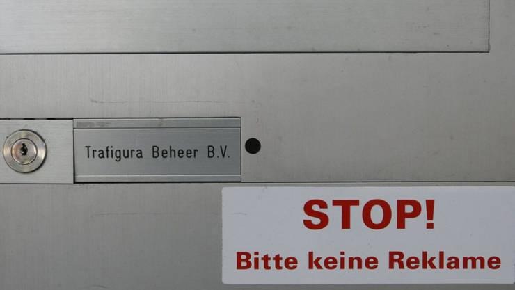 Briefkasten der von Public Eye unter anderen Unternehmen kritisierten Schweizer Filiale von Trafigura in Luzern.