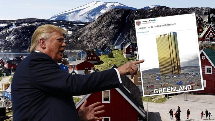 US-Präsident Trump doppelt mit einem Tweet nach.