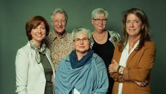 Die Nationalratskandidatinnen der Basler CVP-Frauen.