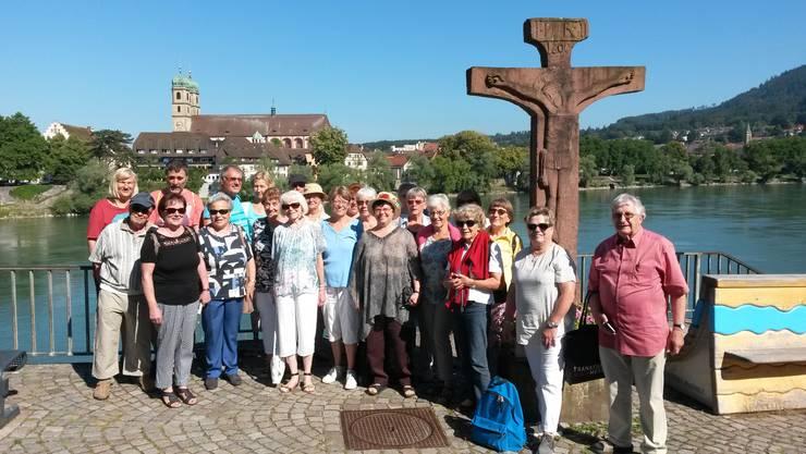 Der Chor in Stein mit Blick auf Bad Säckingen