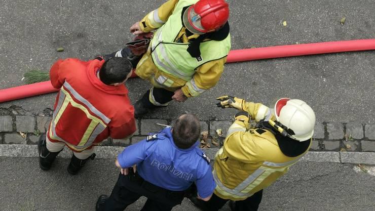 Die Feuerwehr hatte den Brand rasch unter Kontrolle. (Archiv)