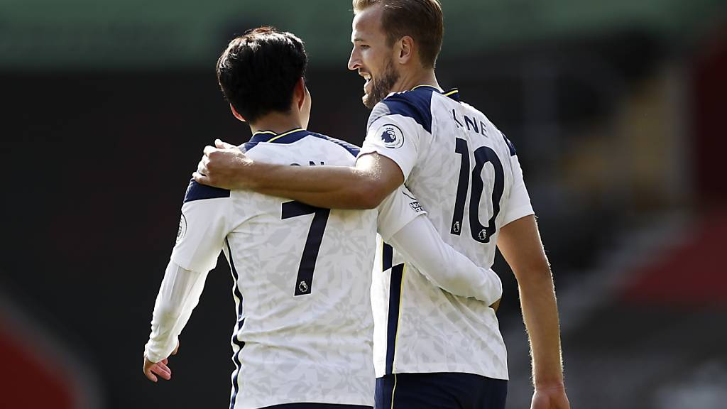 Son Heung-min und Harry Kane sorgten für den Unterschied in der Partie zwischen Southampton und Tottenham