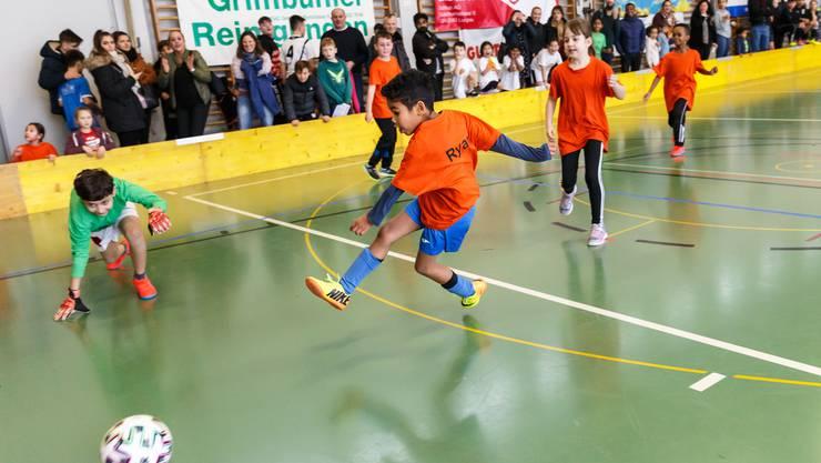Das 28. Schüler Fussball-Hallenturnier fand am Wochenende in der Turnhalle beim Bahnhof Grenchen Nord statt.