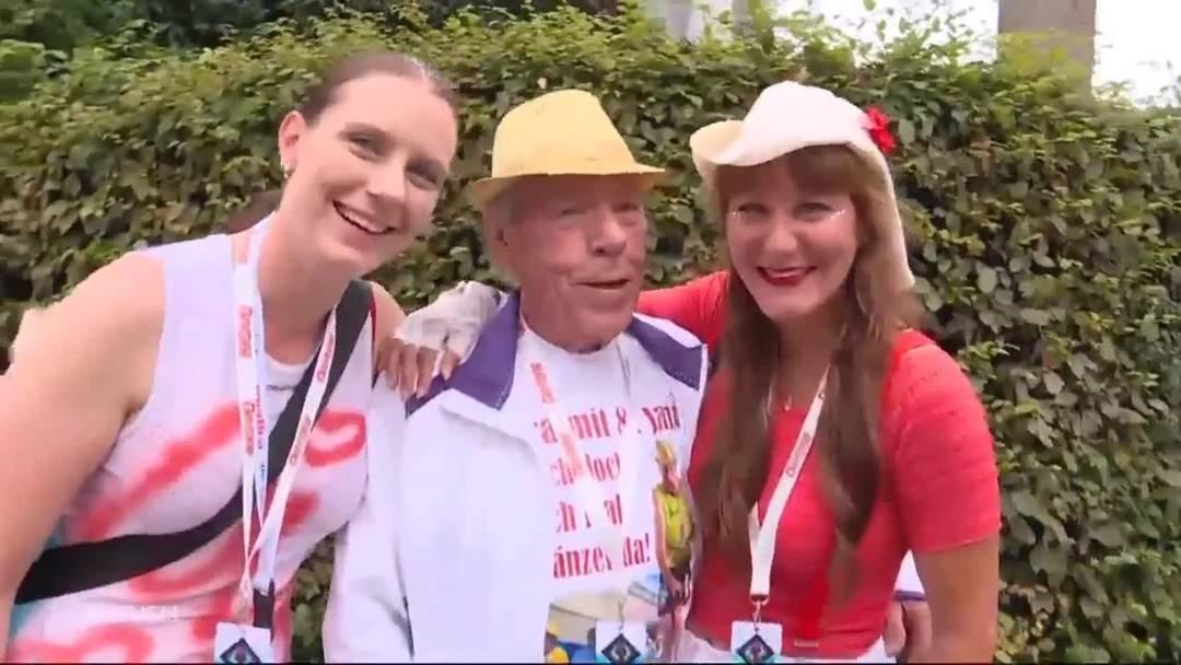 Aargauer Raver-Opa (81) tanzt an der Street Parade: «Hier fühle ich mich als 20-jähriger»