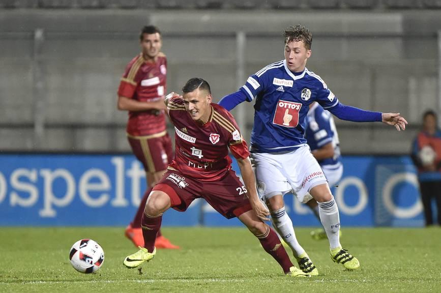 FCL-Mittelfeldspieler Nici Haas