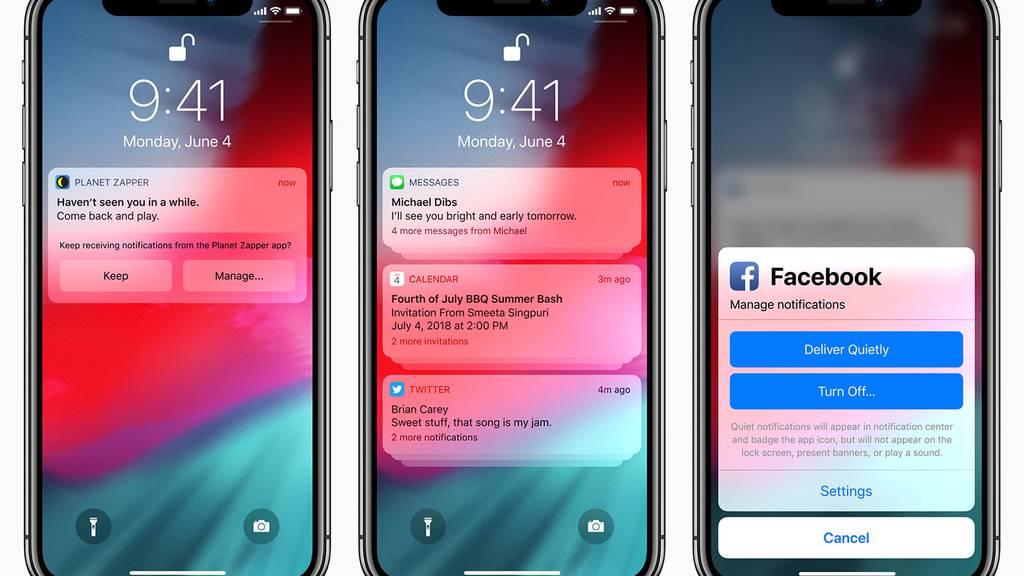 Vernetzt: Bessere Performance mit iOS 12