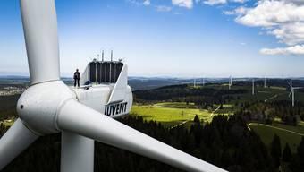 Kopie von Windpark auf dem Mont-Soleil in Saint-Imier