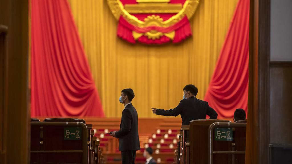 EU kritisiert Hongkong-Gesetz - aber keine Sanktionen