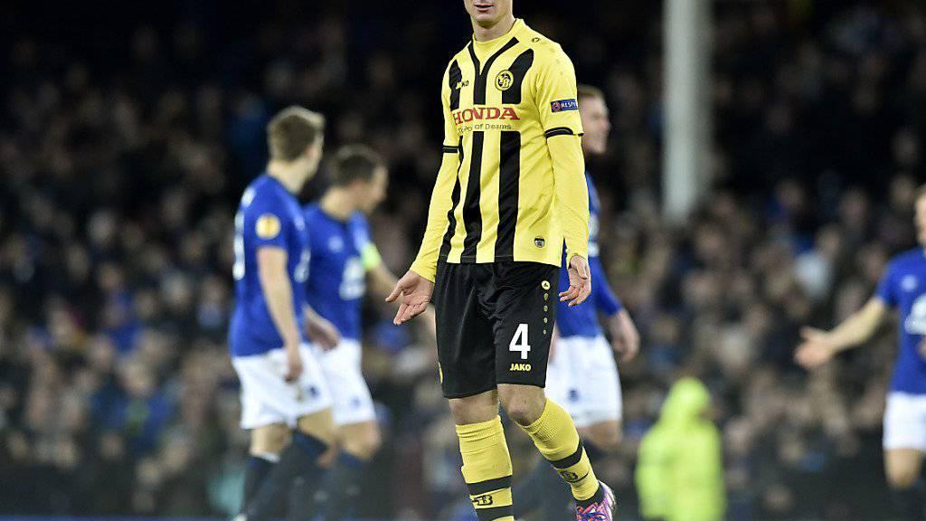 Milan Vilotic wird in die zweite Mannschaft der Young Boys abgeschoben