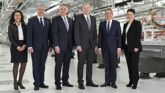 Aargauer Regierungsrat: Die offiziellen Fotos von 2005 bis 2017